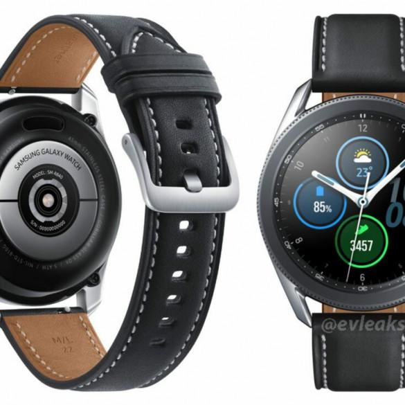 Galaxy Watch 3 se filtra en la Web