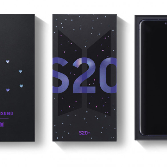 Samsung-Galaxy S20 Plus BTS Edition