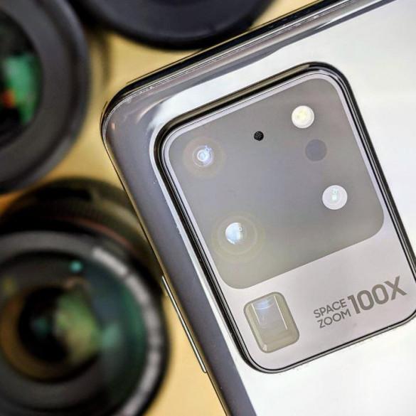 Samsung patenta configuración seis cámaras