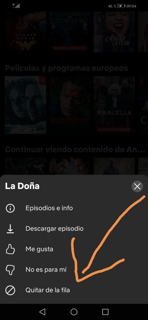 Netflix plataforma Android tutorial