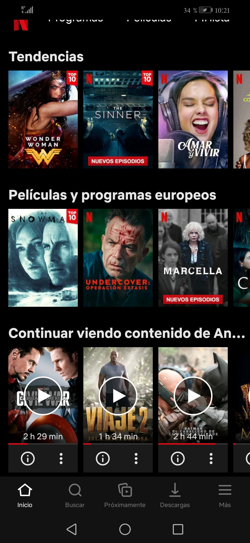 "Netflix plataforma tutorial para quitar ""Seguir viendo"""