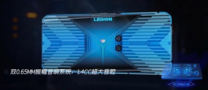 Lenovo Legion parte trasera del Movil