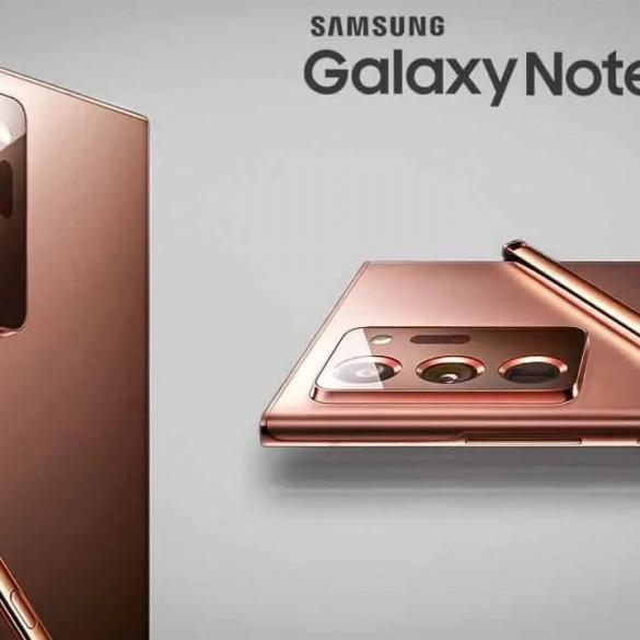 Samsung Galaxy Note 20 Ultra 360 grados