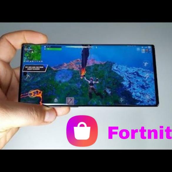 Galaxy Store Fortnite descarga