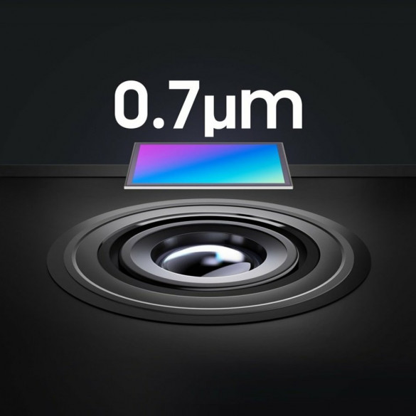Samsung ISOCELL sensores más elegantes
