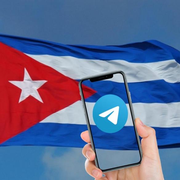 Problema con Telegram en Cuba