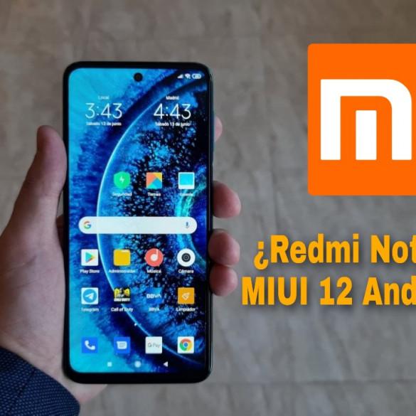 Redmi Note 9 Pro MIUI 12 Android 11