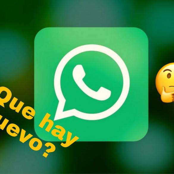 WhatsApp beta lo nuevo en la aplicación