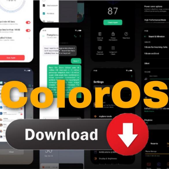 ColorOS enlaces para descargar