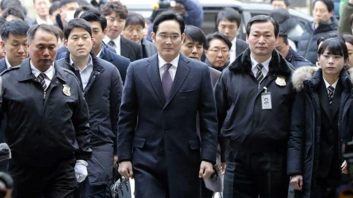 El heredero de Samsung