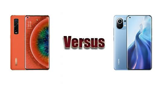 Xiaomi Mi 11 vs OPPO Find X2 Pro