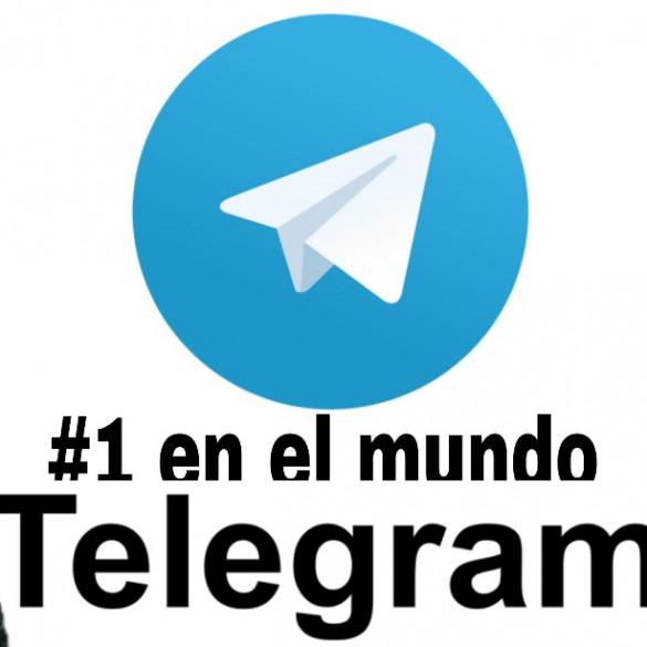 Telegram número 1 en el mundo en descargas