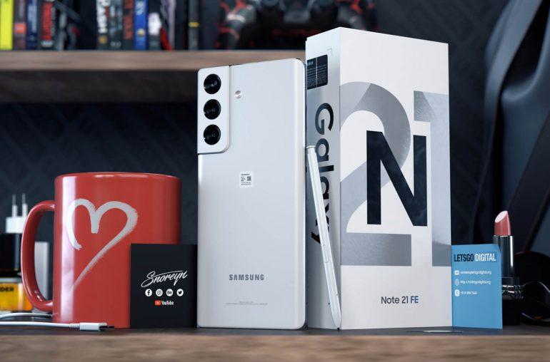 Samsung Galaxy Note 21 FE E