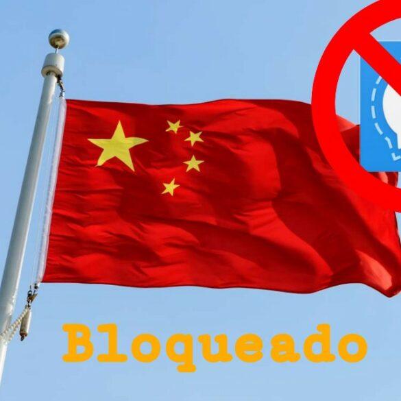 China bloquea a Signal