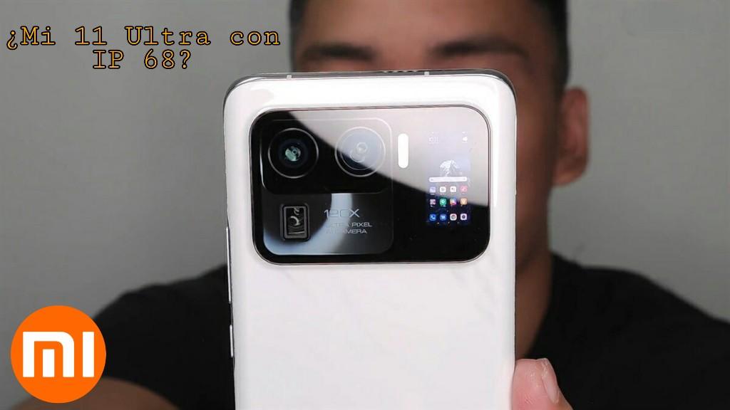 Mi 11 Ultra IP 68