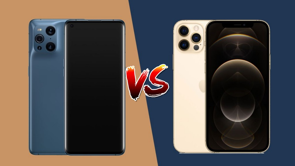 Oppo Find X3 Pro VS iPhone 12 Pro Max
