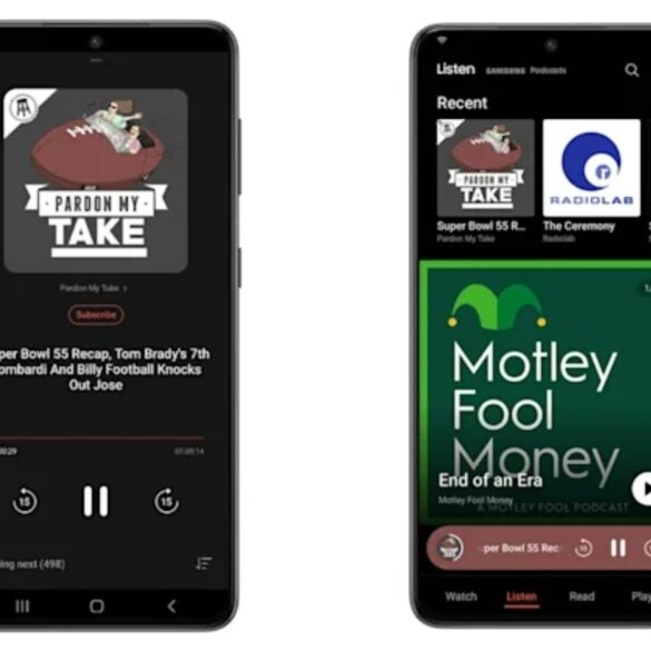 Samsung podcasts