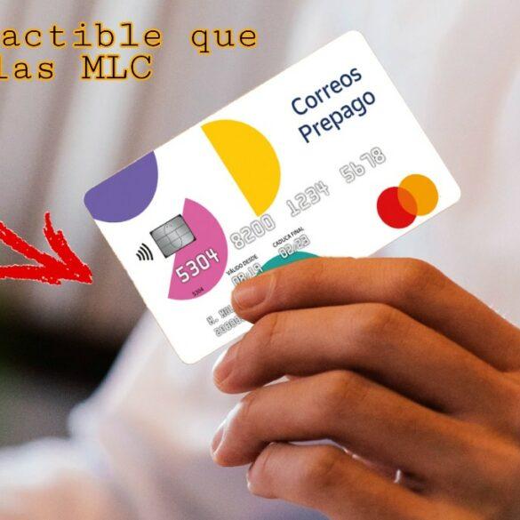 Tarjeta prepago MasterCard de Correos España