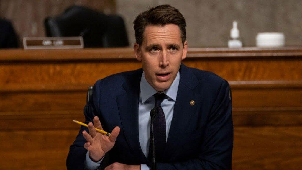Josh Hawley senador estadounidense