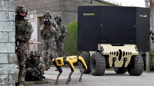 Ejército francés desplegado robot Spot