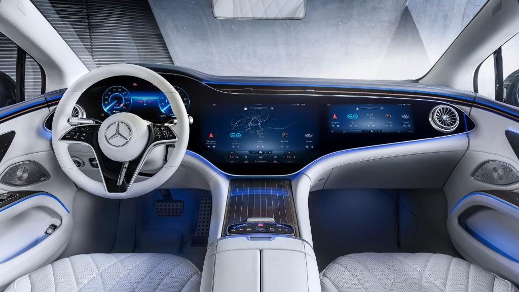 Mercedes Benz presenta un elegante vehículo eléctrico