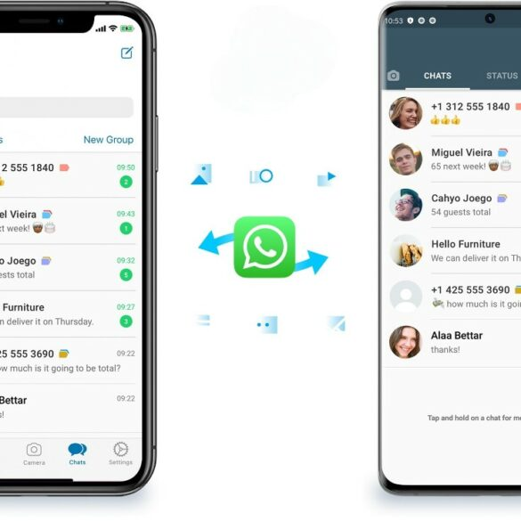 Migración de WhatsApp Android e iOS