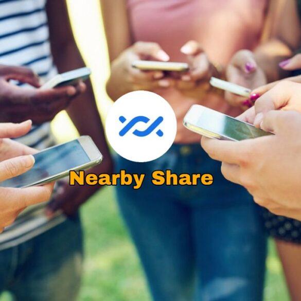 Nearby Share compartir con todos a la vez