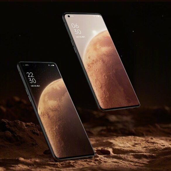 Oppo find X3 pro Mars Edition